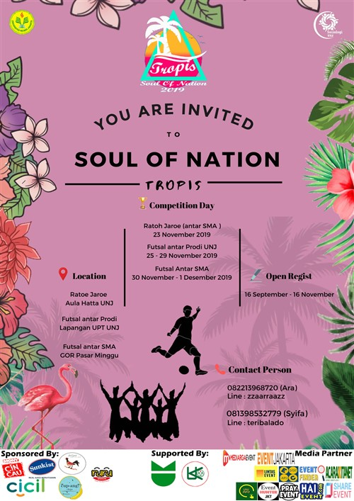 Soul of Nation Tropis