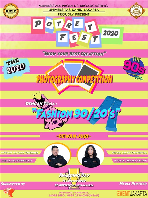 Potret Fest 2020 : Pameran Talkshow & Photography Competition