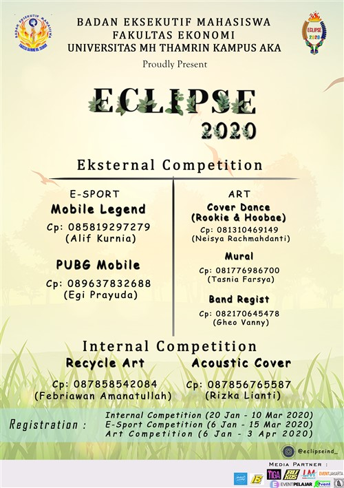 "ECLIPSE Vol. 5 (Euphoria Of Collaborated Artistic Performance and Sport Event) ""RYTHM"""