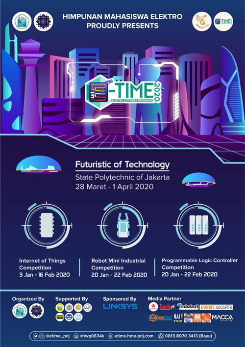 """E-TIME 2020 (Electro Activities Programme) """"Futuristic of Technology"""""""