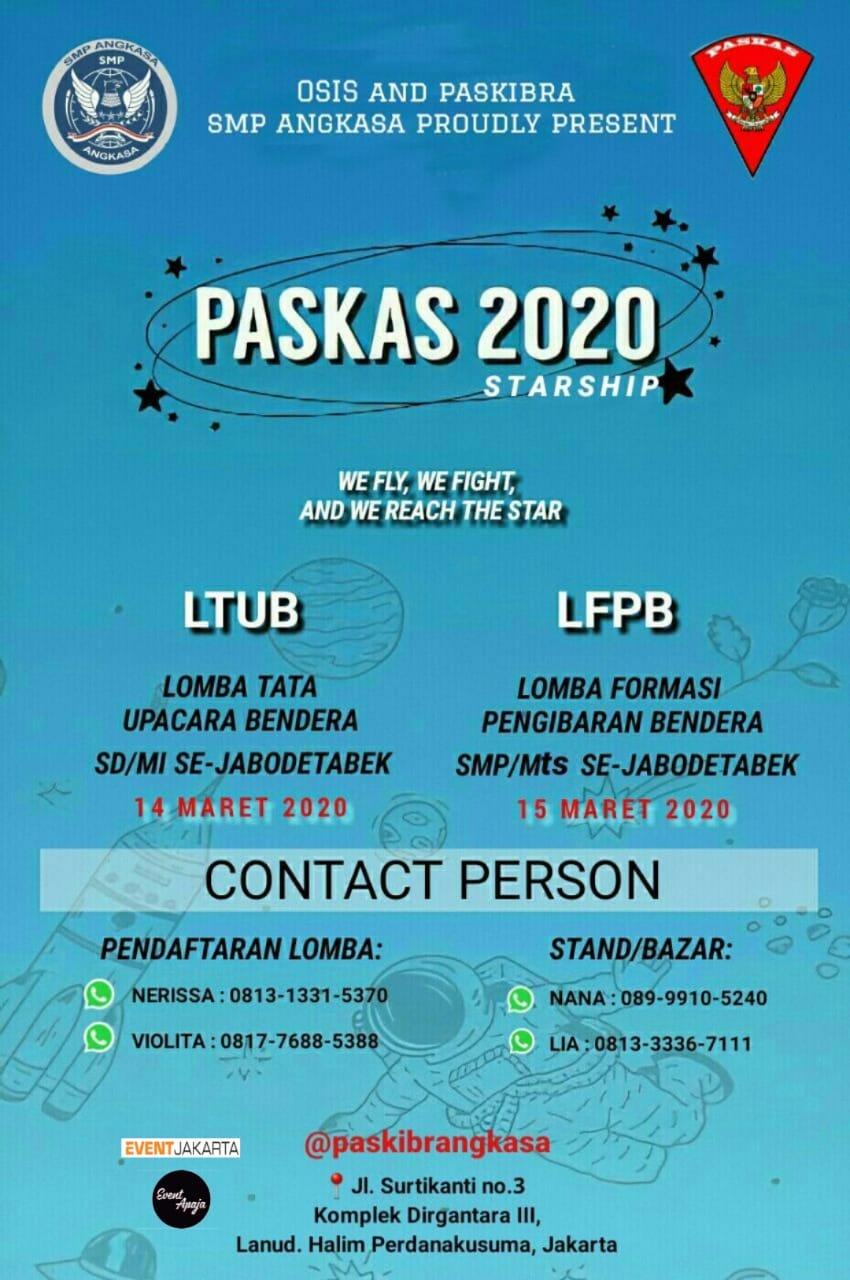 """PASKAS 2020 (Paskibra Style & Kreasi SMP Angkasa) """"STARSHIP"""""""