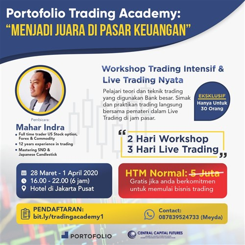 Id like to start a forex trading workshop
