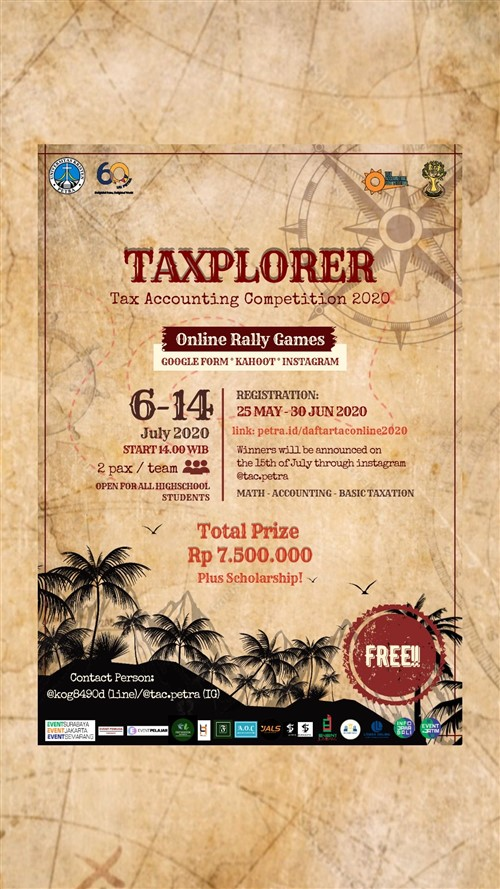 TAXPLORER, Tax Accounting Competition 2020