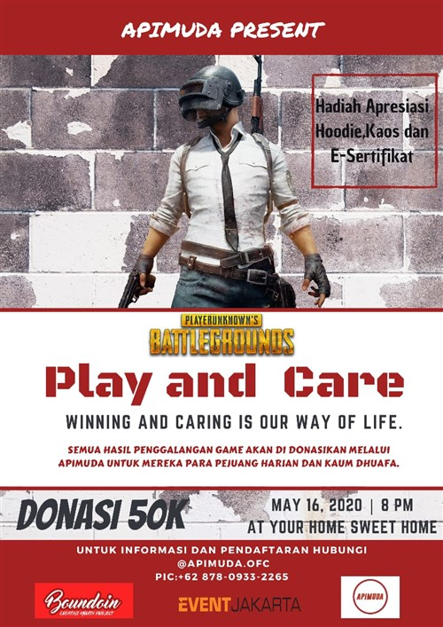"PUBG Tournament for Donation ""Play and Care"""