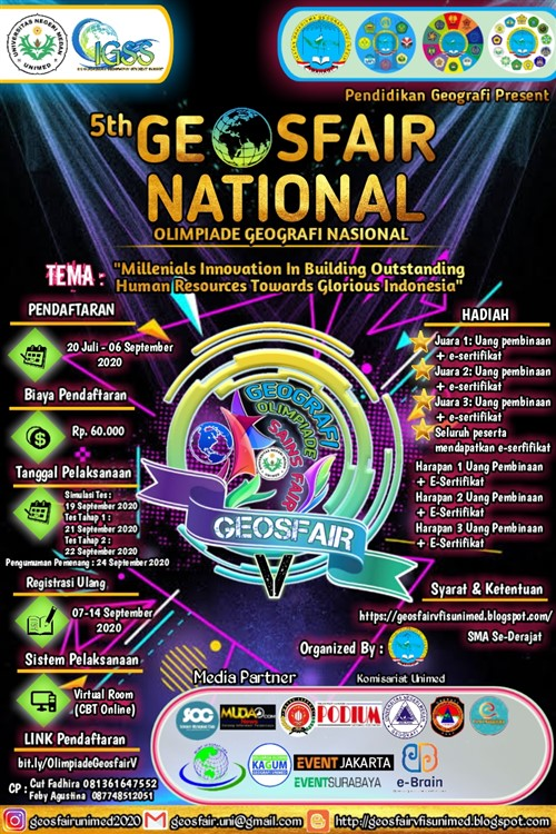 5th Geosfair National, Olimpiade Geografi Nasional