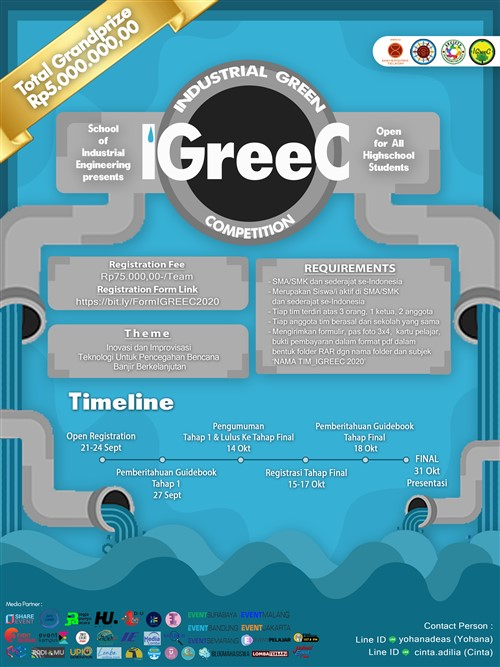 IGREEC, Industrial Green Competition 2020